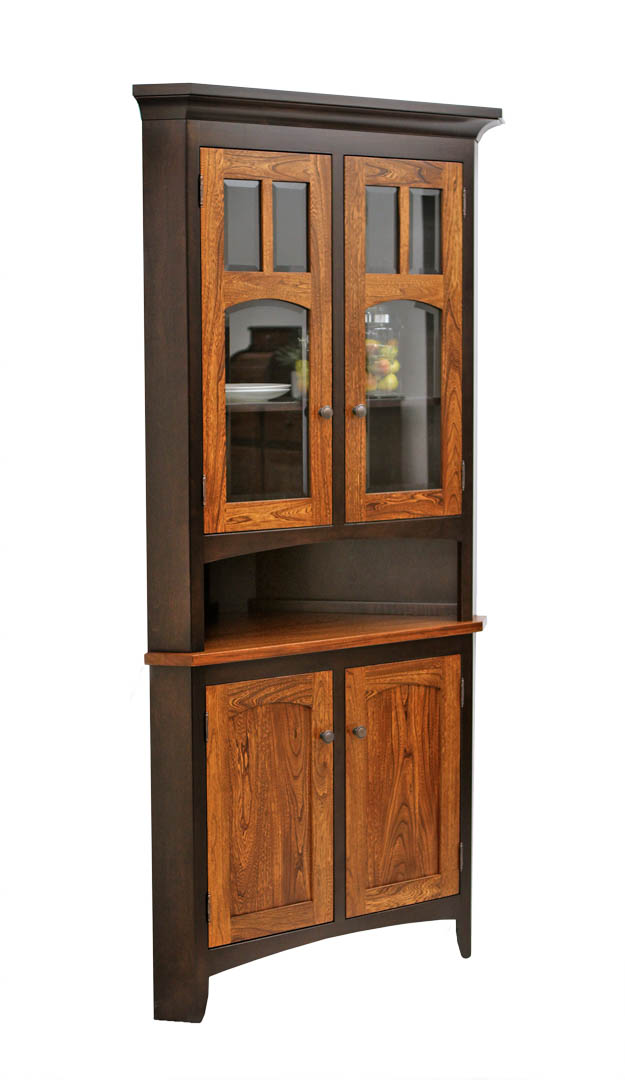 kitchen hutch cabinet biltmore corner hutch craft furniture 21749