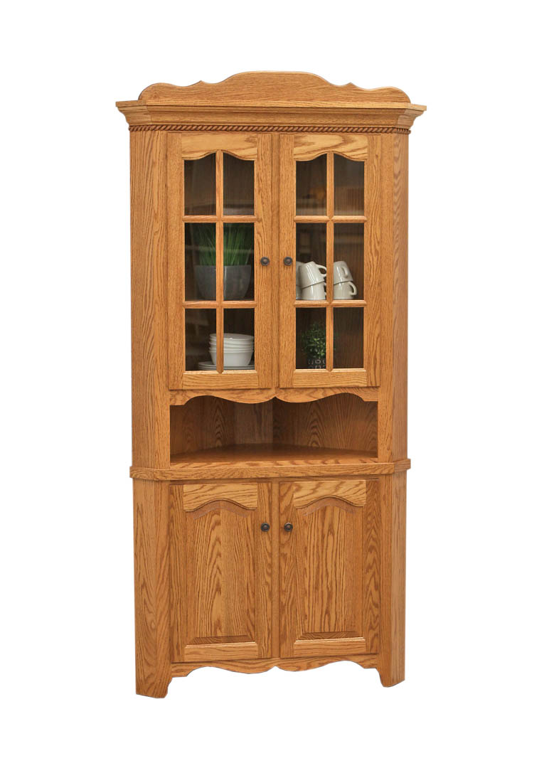 Katie S Corner Hutch Dutch Craft Furniture