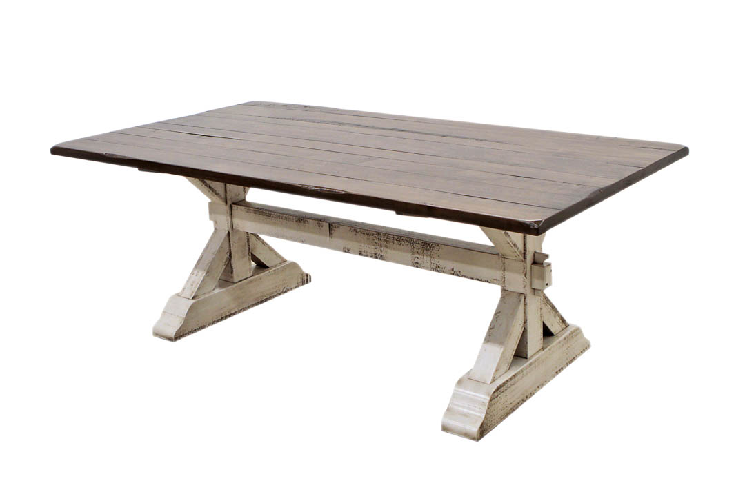 Farm House Trestle Table Dutch Craft Furniture