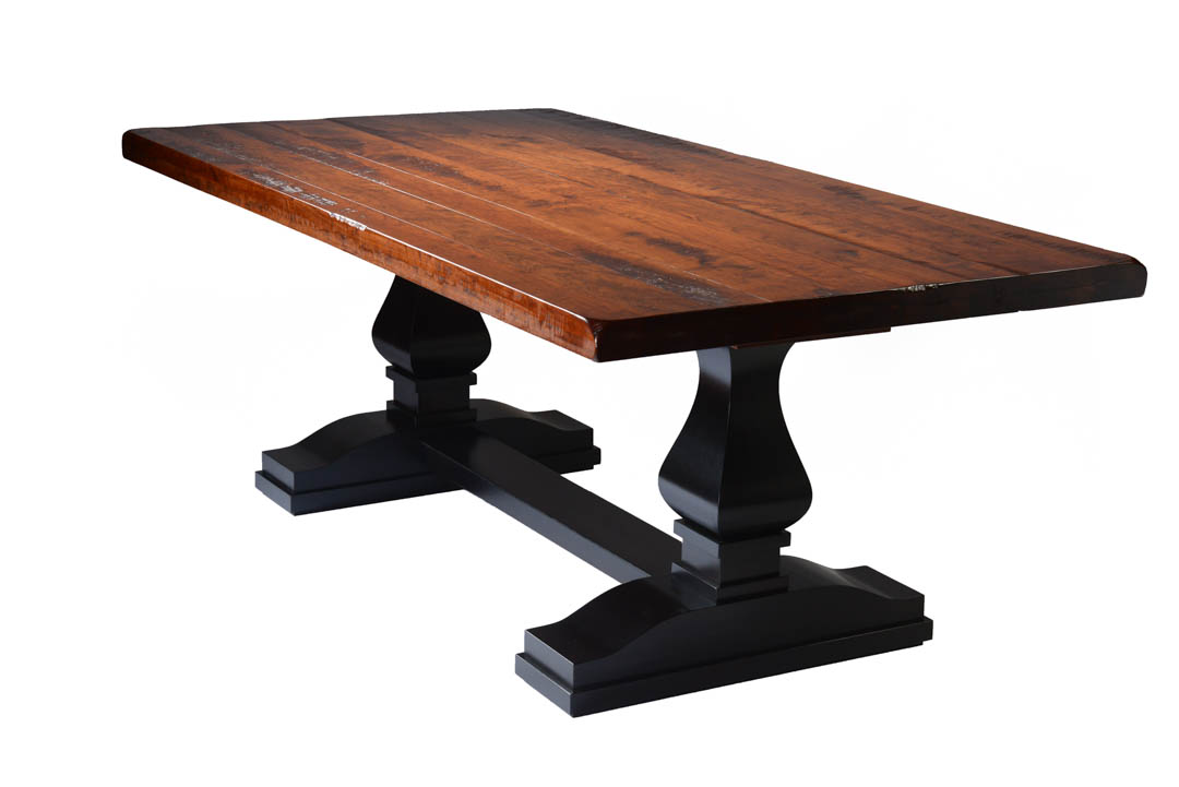 Hillside Double Pedestal Table