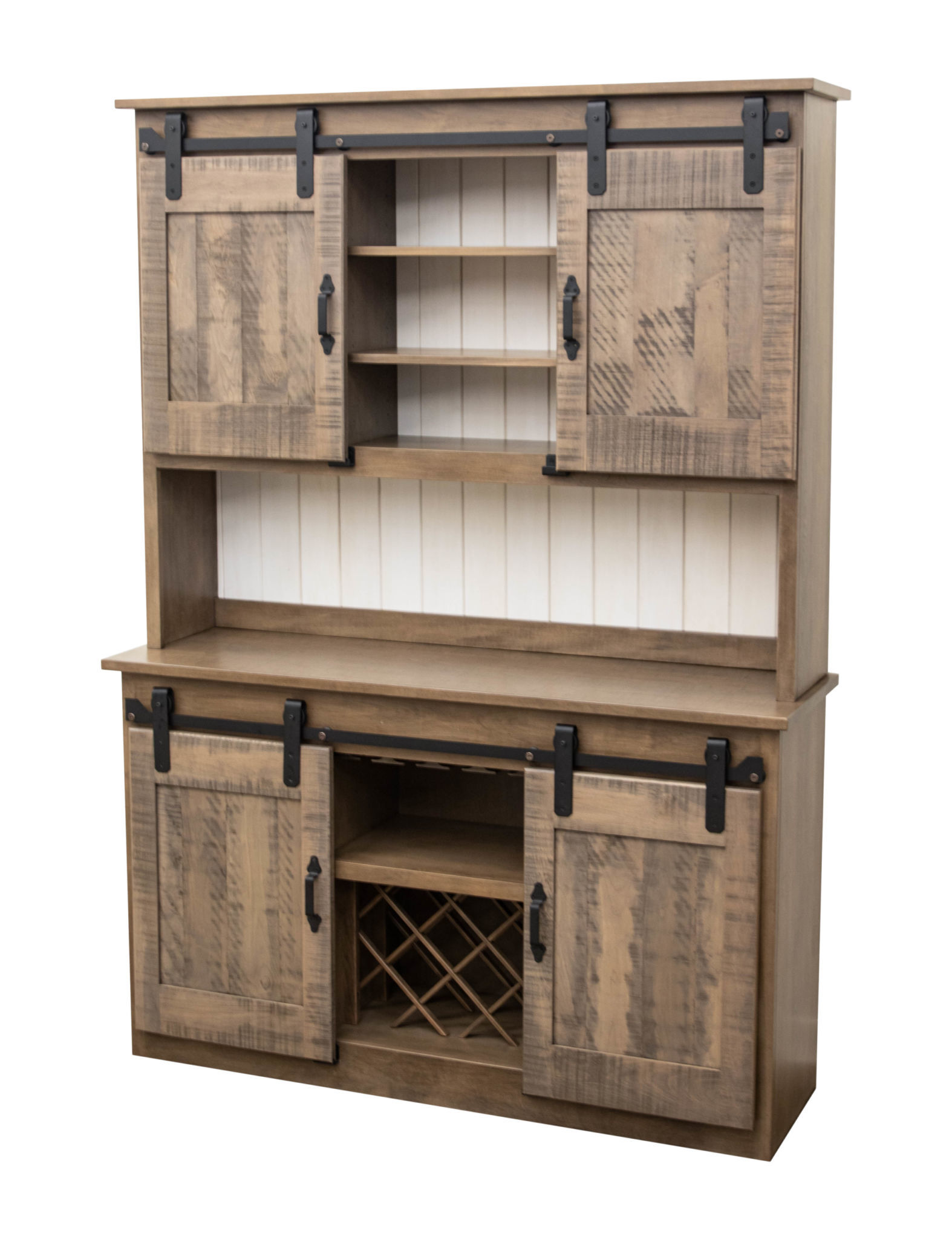 Barn Door Hutch Dutch Craft Furniture