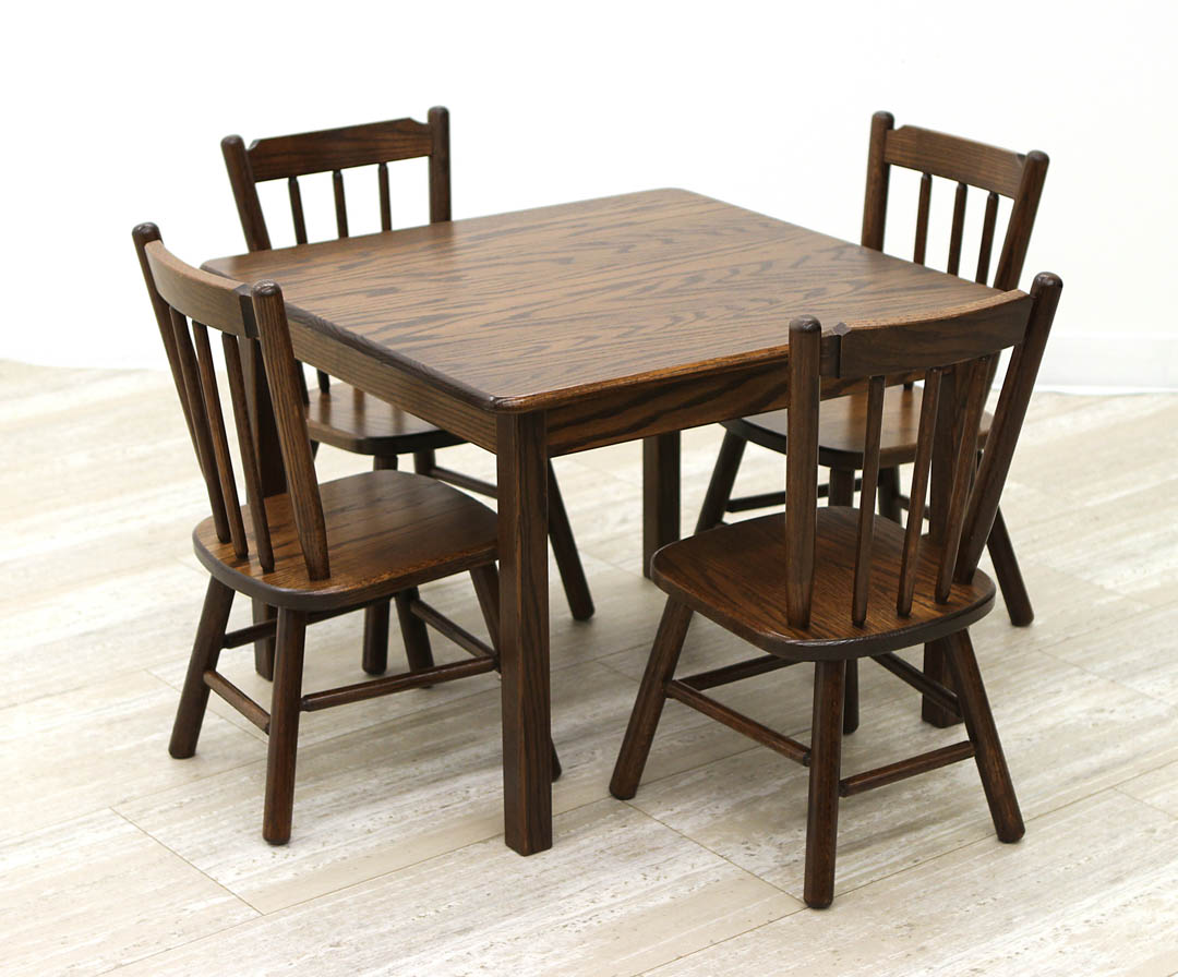 Child S Table 4 Chairs Set