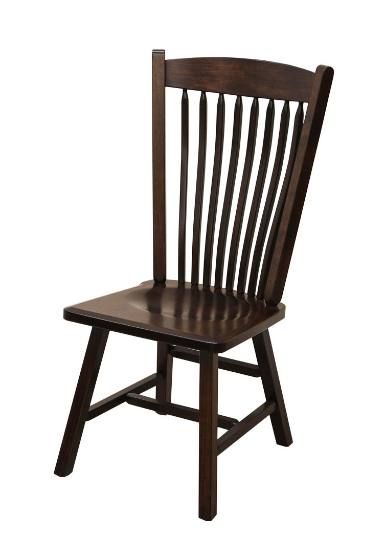 Post Mission Side Chair Dutch Craft Furniture