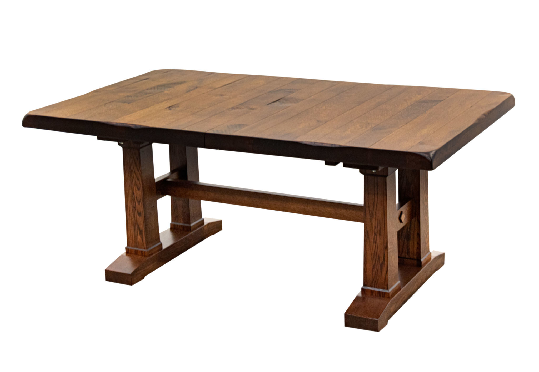 Rowan Trestle Dining Table Dutch