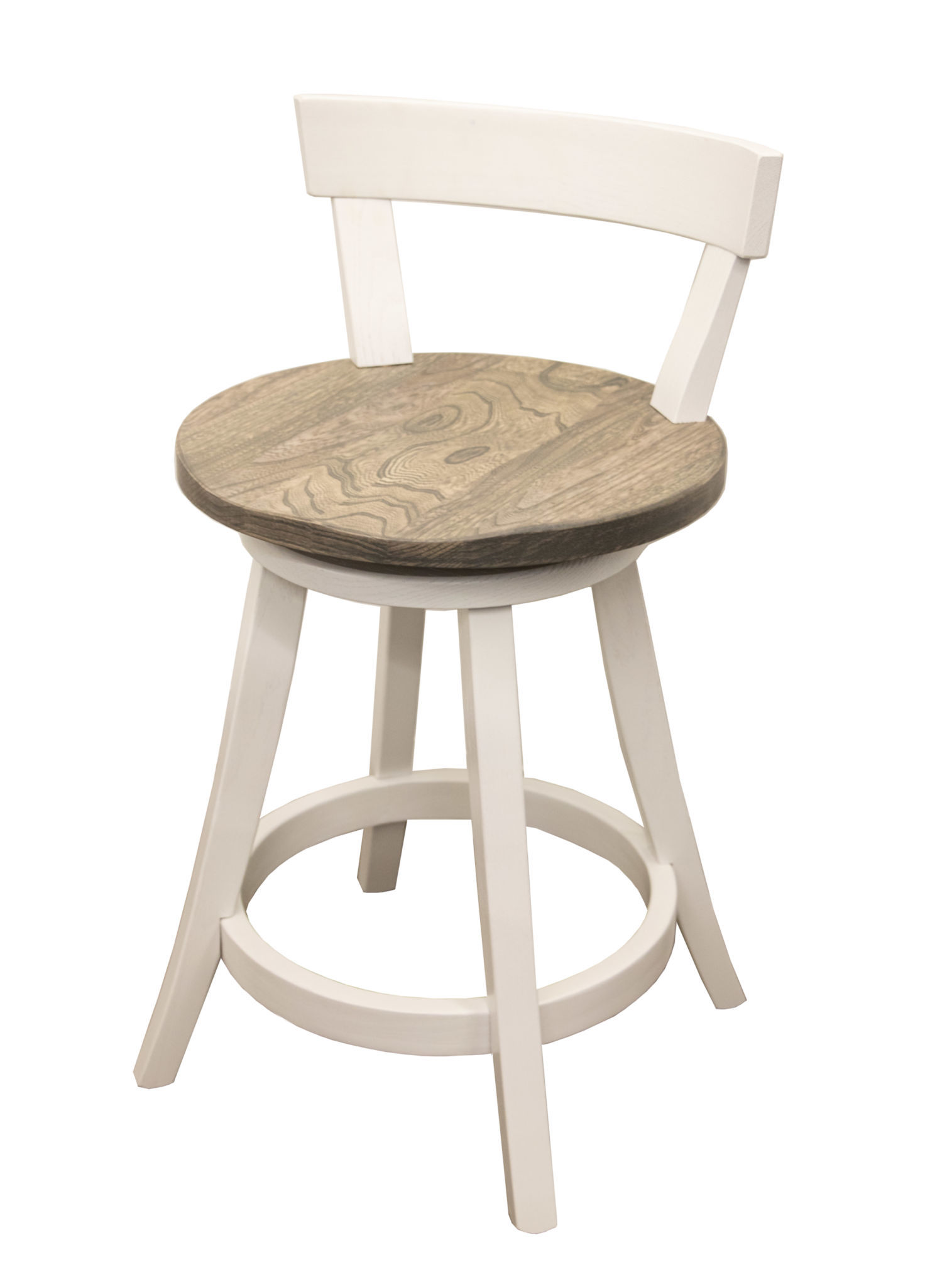 24 Turnstone Swivel Bar Stool With Back Dutch Craft Furniture