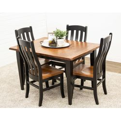 RWO Shaker Leg Table & 4 Fostoria Chairs