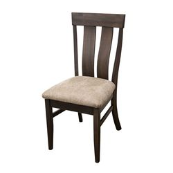 Kinglet Side Chair with Faux Leather Seat