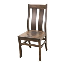 Arlington Side Chair with Straight Top Board