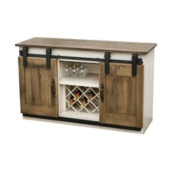 Barn Door Wine Server