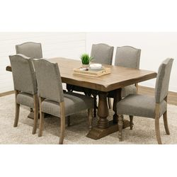 Alexandria Dining Table with 6 Shreveport Chairs