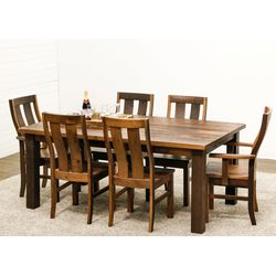 Silverton Leg Table with 6 Chairs