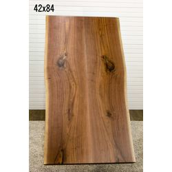 #2 42x84 Live Edge Bookmatch Slab