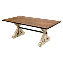 Western Trestle Dining Table