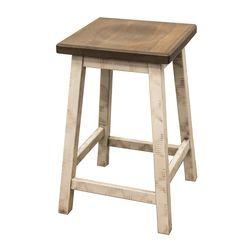"24"" Coastal Mission Bar Stool"